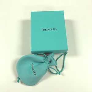Tiffany & Co. gift box and dust bag